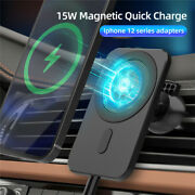15w Mag Safe Car Vent Mount Magnetic Wireless Charger For Iphone 12 Pro Max 13