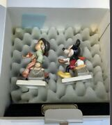 Rare Goebel Disney Mickey Mouse Two Merry Wanderer Signed And Box Of 1500 Only