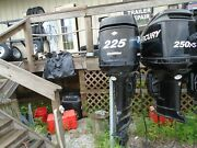 Used 2005 Mercury Optimax 225 Hp 30 Outboard Motor Engine Part 635 Hours