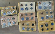 1957-1964 Us Mint Proof Sets 8 Sets Of Us Proof Silver Coins Original Packaging