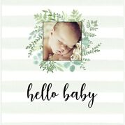 Gender Neutral Baby Memory Book, First 5 Years, Farmhouse