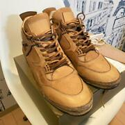 Hender Scheme Mip-10 Natural Brown Color Leather Size 7 Used