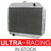4row Radiator For 1967-1979 1978 Ford F-100 F-150 F250 F-350 Bronco Truck V8