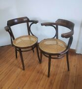 Thonet Chair Vienesse Model 233 Bentwood Dining Coffee House Bistro Cafe Chairs
