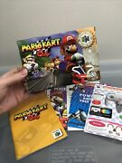 Mario Kart 64, Box Only Nintendo 64, N64, Authentic Booklet