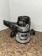 Porter Cable Model 690lr 6902 Router Motor W/ 1001 Base Parts Repair Not Working