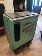 Vintage Ideal 1950s Watchung Beverages Drink Squirt Soda Cooler Chest