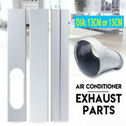 Window Adaptor 2/3pcs Kits Plate/exhaust Hose/tube For Portable Air Conditioner