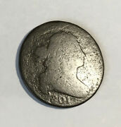 Large Cent 1801 Ave Circ Clear Date
