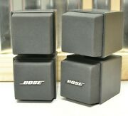 Pair Bose Acoustimass Cube System Speakers Direct / Reflecting Audio 501x