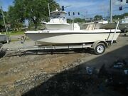 2002 Sea Pro 170 17and039 Center Console Fishing Bay Boat -no Trailer...hull Only