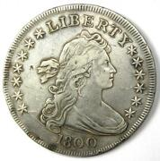 1800 Draped Bust Silver Dollar 1 Coin - Xf Details Ef - Rare Coin