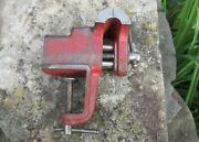 2 1/2 Vintage Wilton Machinists Bench Vise - Small Clamp On Hobby Size