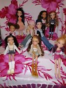 Updated....bratz Doll Lot With Clothes And Extras.. 2 More Dolls And Misc Added