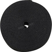 Cycle Perf Black Metallic 2 X 100and039 Exhaust Wrap - Cpp/9242-100 No Ship To Ca