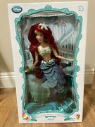 Nrfb New Disney Store The Little Mermaid Ariel 17 Limited Edition Doll 2013