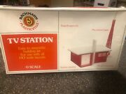 Bachmann Plasticville Tv Station O Ho Scale Train New Sealed Plastic
