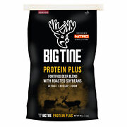 Big Tine Bt25 Protein Plus Deer And Wildlife Food, Fortified With Nitro, 25-lbs. -