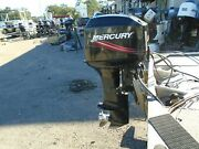 Used 2009 50elpto 50hp Mercury 20 Outboard Boat Motor- Great Compression
