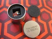 Inception Movie The Dream Is Real Totem Set Red Die Prop Replica Bam Box Tin