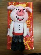 Technoblade Youtooz 1ft Plush Rare Sold Out In Hand Pig King