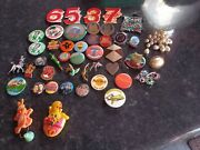 370+ Vintage Badges Character Advertising 1980s Badge Collection 1990s