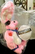 Vintage 1989 22 Energizer Bunny Rabbit Plush Toy Nos In Package Battery