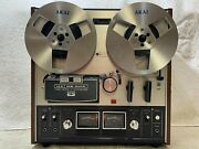 Akai Gx-210d Auto-reverse Stereo Tape Deck Reel To Reel - Excellent  Video