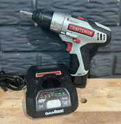 Craftsman Nextec 12v Cordless 3/8 Drill Driver 320.10003 With Battery And Charger