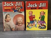 Two Very Old, Vintage | Collectible - Jack And Jill Books 1970 And 1975 - Hard Back.