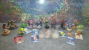 Huge Disney Infinity Star Wars Marvel Toy Story More Mixed Lot Crystal Playsets