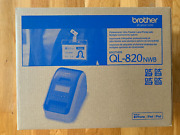 Brother Ql820nwb Professional Direct Thermal Label Printer - White/black
