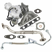 For Audi A4 2.0t Bwt 2005-2009 Borgwarner Turbo Kit W/ Gaskets And Oil Lines Dac
