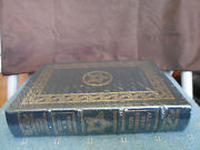 President George H W Bush Signed - All The Best - Easton Press Leather Sealed