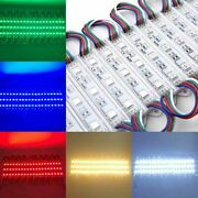 10-500ft Led Module 5050 Smd Strip Light Store Front Window Sign Lamp Waterproof