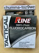 P-line Tactical 100 Pure Fluorocarbon, Bass Fishing, Brand New Free Shipping