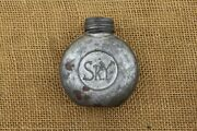 Finnish Mosin Nagant Oil Can Or Bottle. Large Sk.y. Marked Round One.