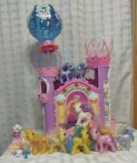 My Little Pony Celebration Castle Incomplete 8 Ponies And Accessories