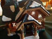 """Department 56 """"moonlight Bay Bunk And Breakfast"""" 55074 Snow Village Collection"""
