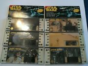 Star Wars 70mm Film Cells Lot Of 6/1 Autographed By Admiral Motti