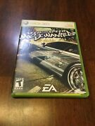 Need For Speed Most Wanted Microsoft Xbox 360, 2005 Complete Tested