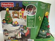 Fisher Price Little People Tree Lighting In Discovery Park New Retired