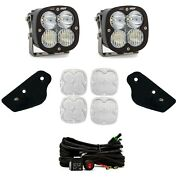 Baja Designs A-pillar Xl80 Combo Led Kit With Toggle Switch For 2021+ Bronco