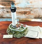 Harbour Lights Lighthouse 199 Pigeon Point California Vintage Nautical Collector