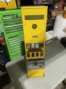Vintage Coin Operated Cigarette Machine Antique Op Vending Amazing Works