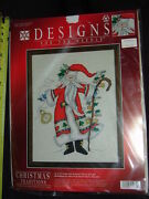 Designs Christmas Traditions Cross Stitch Father Christmas 1981 New In Package