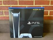 Sony Playstation 5 Digital Edition Console - New - Free Overnight Shipping ✅