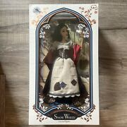 """Disney Limited Edition """"snow White In Rags"""" Nrfb 1 Of 6500, 17"""" Doll, New In Box"""