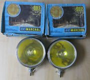 Nos Marchal 902 Driving Lights In Original Packaging- Cibie Carello Hella