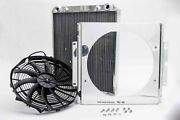 80108n Afco Racing Products 80108n Dragster Radiator W/ Fan And Shroud